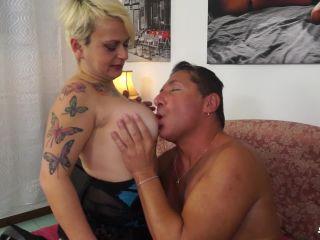 Mature Italian Lady Gets Ass Fucked And Eats Cum - Francesca Nencetti