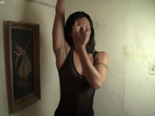 Wenona - She's Ready To Give You A Hand Job. But First, She Wants Her Muscles Worshiped.