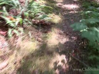 Face Sitting – Club Stiletto FemDom – Tiny Dick Humiliated In The Woods – Lady Bellatrix