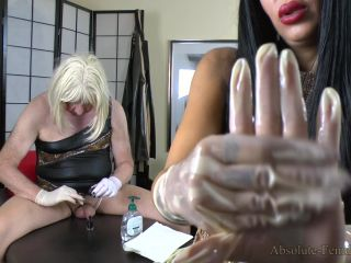 Absolute Femdom – Milked And Fucked With Surgery Gloves