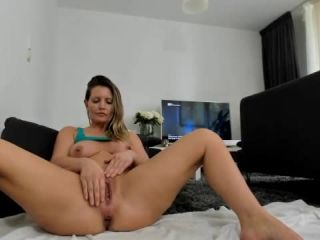 Helena Lana – Inserting big balls into her ass