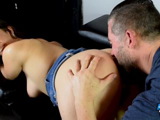 All Anal All The Time - Jackie Ohh, anal big ass brunette on brunette