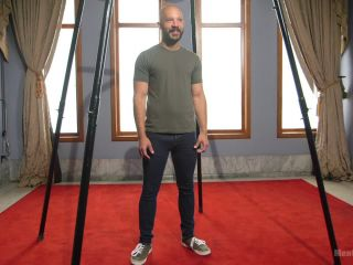 9 in cock edged in mid-air & has the cum drained from his aching balls - Kink  February 28, 2017