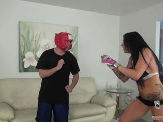 An MMA fighter Austin challenges a loser boy