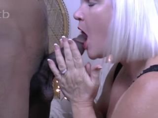 Fucking her hole with tarp on and filling her mouth