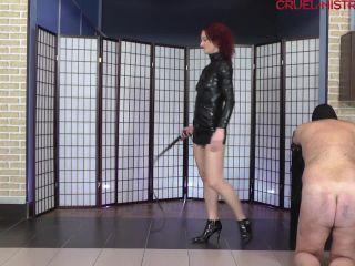 Cruel Mistresses - Mistress Clarissa - Brutal strokes and moans | mistress clarissa | bdsm porn