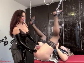 Ass To Mouth – Mistress Ezada Sinn – Sissy fucktoy: Mistress Ezada training Her sissy to be a sex toy