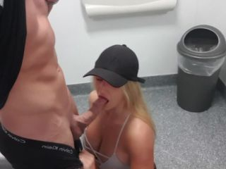 Deepestdes1resxxx in Risky public toilet suck and fuck