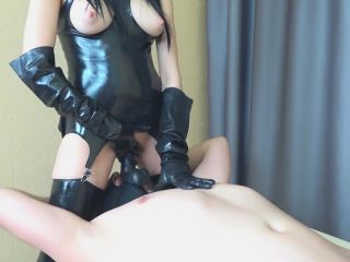 ChastityLady - Femdom Prostate Milking in Chastity Belt with Strapon [FullHD 1080P] - Screenshot 2