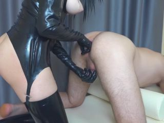 ChastityLady - Femdom Prostate Milking in Chastity Belt with Strapon [FullHD 1080P] - Screenshot 4