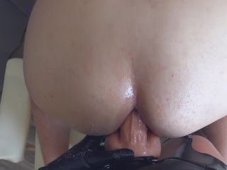 ChastityLady - Femdom Prostate Milking in Chastity Belt with Strapon [FullHD 1080P] - Screenshot 6