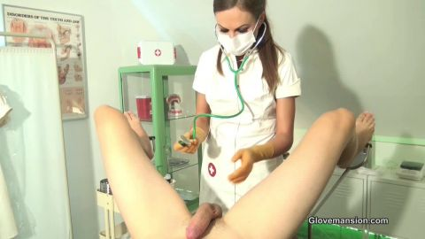 Tina Kay starring in video (Gloved medicine for erectile issues part1) of (Glove Mansion) studio [HD 720P]