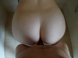 Nini Divine - She Sucks and gets her Fucked in the Shower  on milf big ass hairy pussy matures