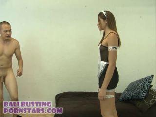 Avi Love In Scene: Hairy Bush Teen French Maid – BALLBUSTING PORNSTARS