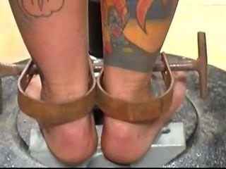 Brutal BDSM Ginch – Pole Punishment