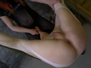 Sissy Verity Fox throat and ass fucked in the dungeon