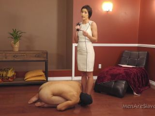 Porn online Men Are Slaves – Goddess Nikki Tries A New Pet, Part 3. Starring Goddess Nikki femdom