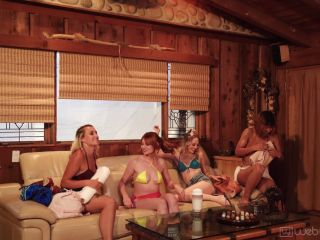 Web Young – Lacy Lennon, Lily Larimar, Indica Monroe & Apryl Rein