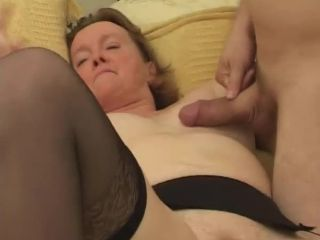 Chubby Granny MMF Threesome Action