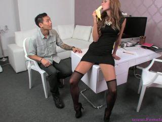 Gina devine fucks asian guy