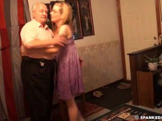 Spanked by Daddy - Spanking and