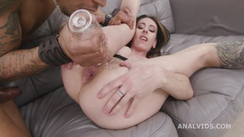 Gemma Bones - Gemma Bones welcome to Porn with Balls Deep Anal, Gapes and Swallow (720p)