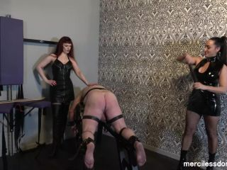 Canes – Merciless Dominas – Caned for Pleasure – Mistress Rebekka Raynor and Mistress Chlo