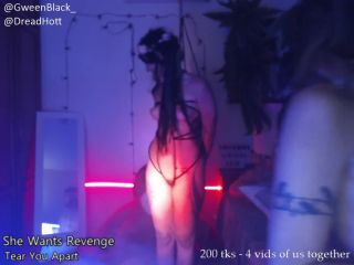 Dread Hot - BDSM Torture Session with Gween Black -LIVE SHOW