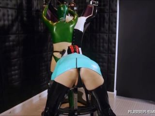 Rubber Empire – Rubber Whore must suck – Female Domination, Make Me Bi, anal kiss on anal porn