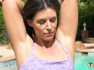India Summer Poolside Anal Sex With MILF India Summer