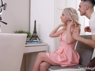 – Hanna Rey – Hot Blonde Gets A Sticky Satisfaction