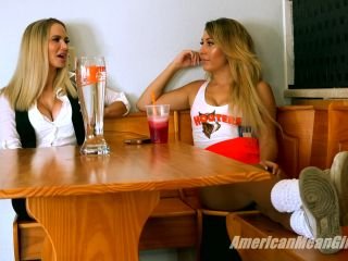 The Mean Girls – Goddess Platinum, Princess Skylar – Hooters Foot Fetish Friday (1080 HD) – Female Domination, Financial Domination - fetish - fetish porn femdom in public