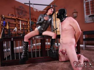 Pussy Tease – ClubDom – Miss Roper's Dungeon Slave – Dildo Gagged