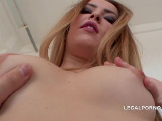 Lana Lewis first time in Porn  Intense DP, first DAP, assfucking ball deep and gapes  3 Swallows  Pussy only for DP GIO137 (HD)