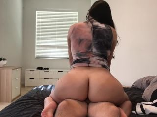 Crystal Lust - Big Booty PAWG Fucks in a Sexy Dress