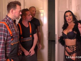 dap - LegalPorno presents Luxury Sex addict Veronica Avluv gets a Double anal Gangbang for Dinner FS036 – 22.02.2019