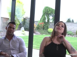 JacquieEtMichelTV presents Angelo in Shanti 21ans, et Angelo 29ans, couple de parfaits coquins – 16.01.2018