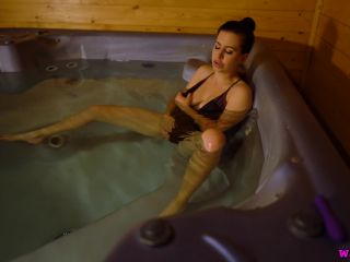 "Tindra Frost ""Sneaky Hot Tub Fun"""