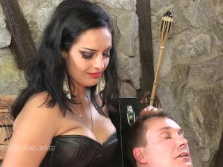Porn online Leather – SADO LADIES Femdom Clips – Merciless Cock Whipping – Mistress Ezada