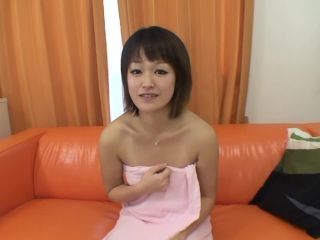 Short hair japanese cougar is eager for sex and the taste of cum