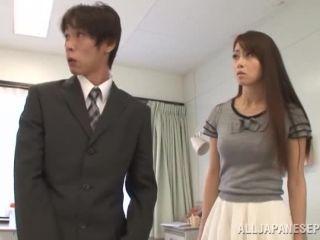 Awesome Maki Hokujo sexy Asian doll enjoys hard rear fucking Video Online