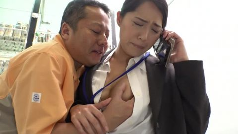 Tono Miho - A Woman Working At A Convenience Store's Headquarters (720p)