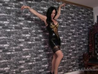 ClubStiletto – Open Yourself Up To Me – Miss Jasmine – CBT – PVC, Latex - pvc - femdom porn blonde asian porn