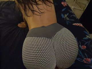 My innocent bubble butt is getting fucked by a long and hard cock at home