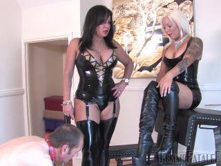 Femmefatalefilms – Miss Deelight, Mistress R'eal – Wretched Slave – Super HD