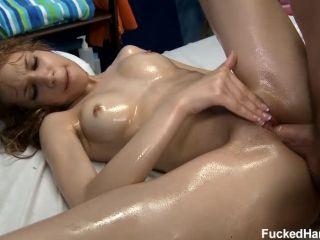 Massage, Oil Fetish For Mae Olsen
