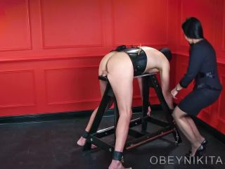 Caning – Mistress Nikita FemDom Videos – Obey Nikita – Caned For My Pleasure
