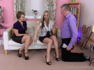 femdom gentle role play | The English Mansion – Wives Take Charge Pt1 – Part 3. Starring Miss Eve Harper & Mistress T | sheer