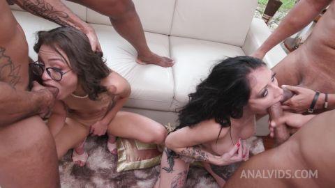 Cris Bathory, Polly Petrova - Hardcore 4on2 with insane slutsCris BathoryandPolly Petrova(DAP, DP) YE119 [HD 720P]