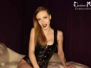 Online femdom video Goddess Nikki Kit - Your First Time with Anal JOI